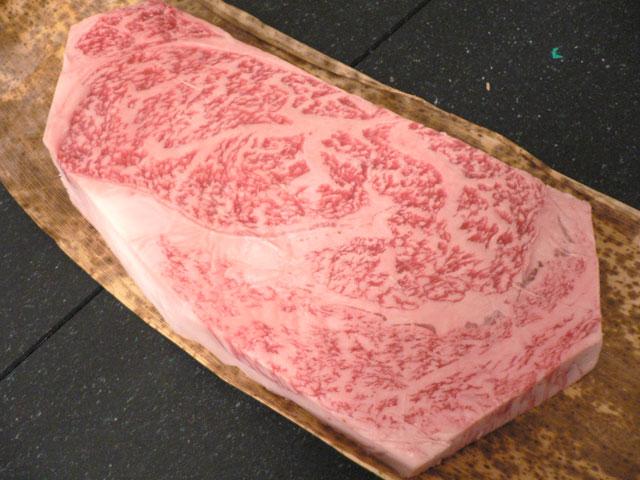 神戸牛リブロースステーキの画像