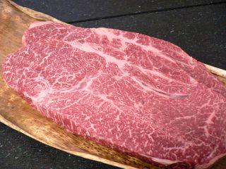 神戸牛ももランプステーキ