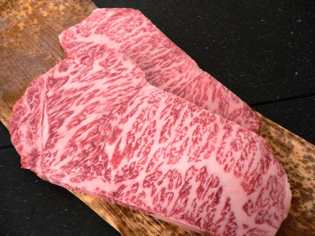 神戸牛サーロインステーキの画像