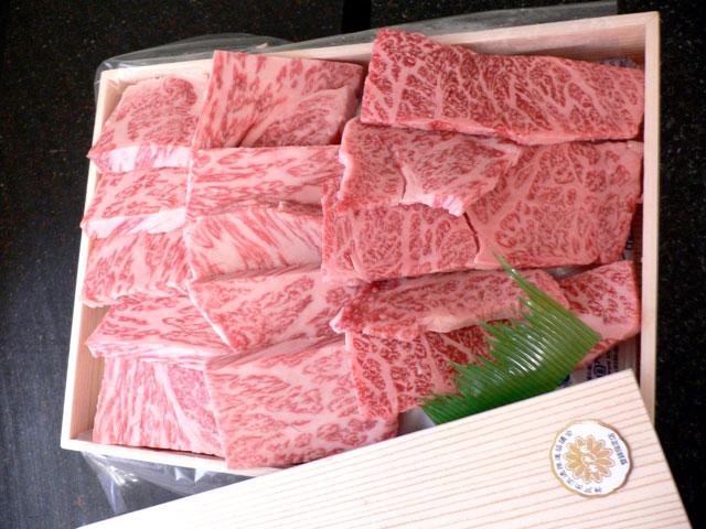 神戸牛ギフトの神戸牛焼肉ギフト『高砂』