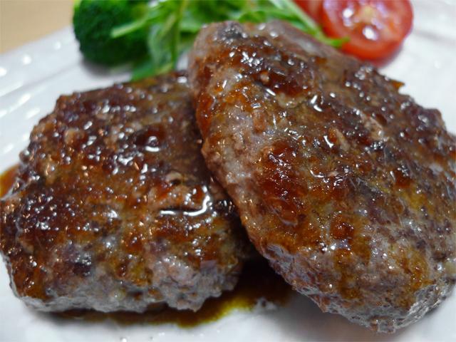 神戸牛ハンバーグステーキ『菊華』